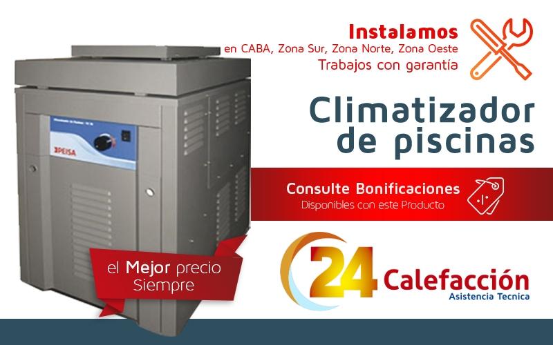 24 calefaccion climatizador de piscina