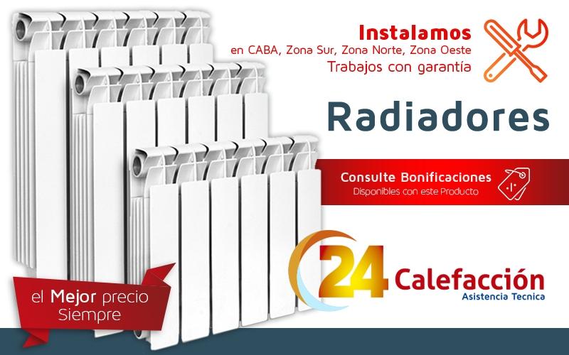 24 calefaccion venta de radiadores