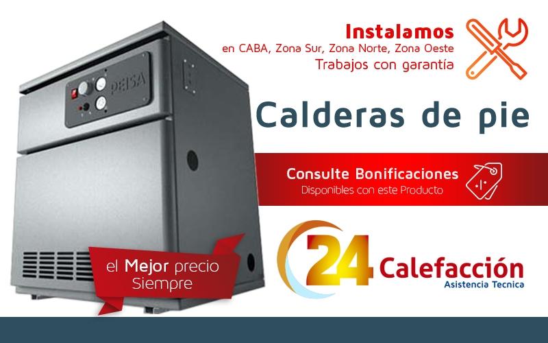 24 calefaccion calderas de pie