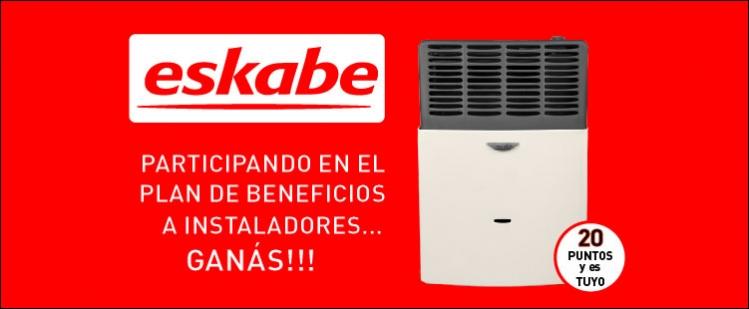 Programa de beneficio a instaladores - Eskabe