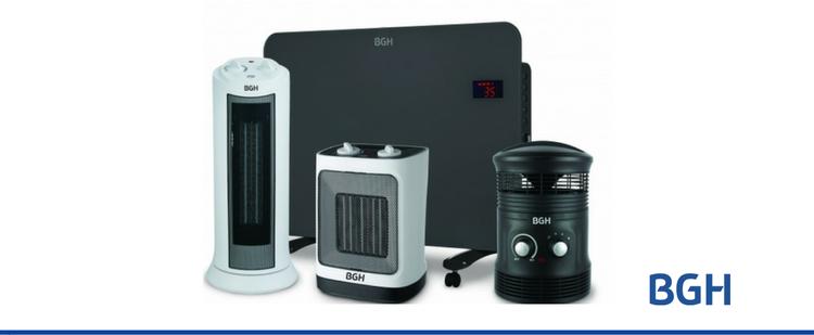 BGH combate el frío. Nuevos productos de calefacción.