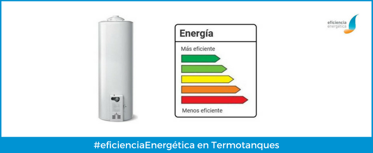Etiqueta de eficiencia en termotanques a gas