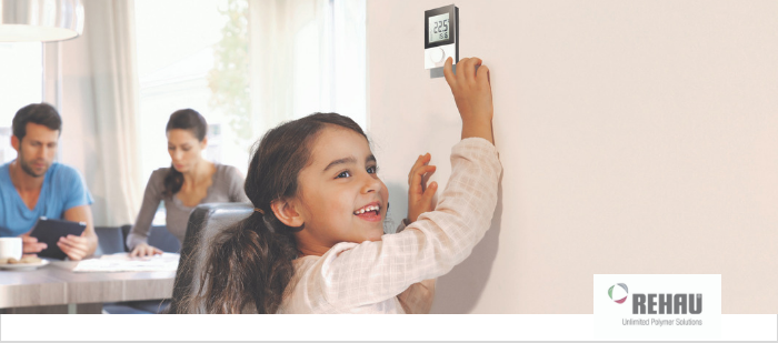 Termostato  ambiente WiFi -  NEA Smart de REHAU