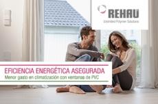 Ahorra energía con ventanas de PVC REHAU
