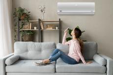 Cómo usar el aire acondicionado en modo calor?