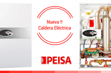 Caldera eléctrica PEISA - Energía alternativa