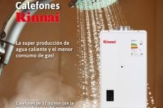 Calef贸n RINNAI la super producci贸n de agua caliente