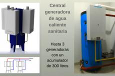Agua Caliente Central - Central Generadora CALDAIA