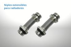 Niples flexibles para radiadores y toalleros de calefacción