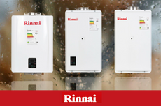 RINNAI, el reemplazo perfecto del termotanque.